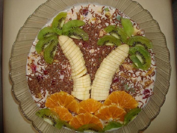Украшение фруктами в домашних условиях с фото 789
