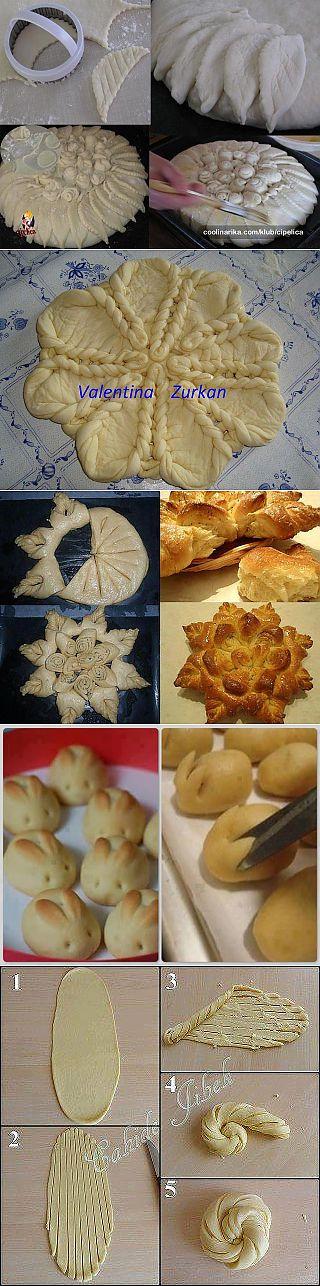 Формование теста для пирогов, пирожков и т.д.