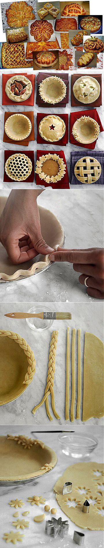 Супер сайт!!!Оформление(разделка) пирогов и булок.Мастер-классы от Valentina Zurkan.